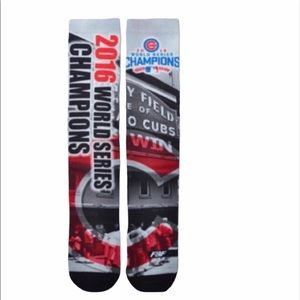 For Bare Feet MLB Chicago Cubs Champions Socks